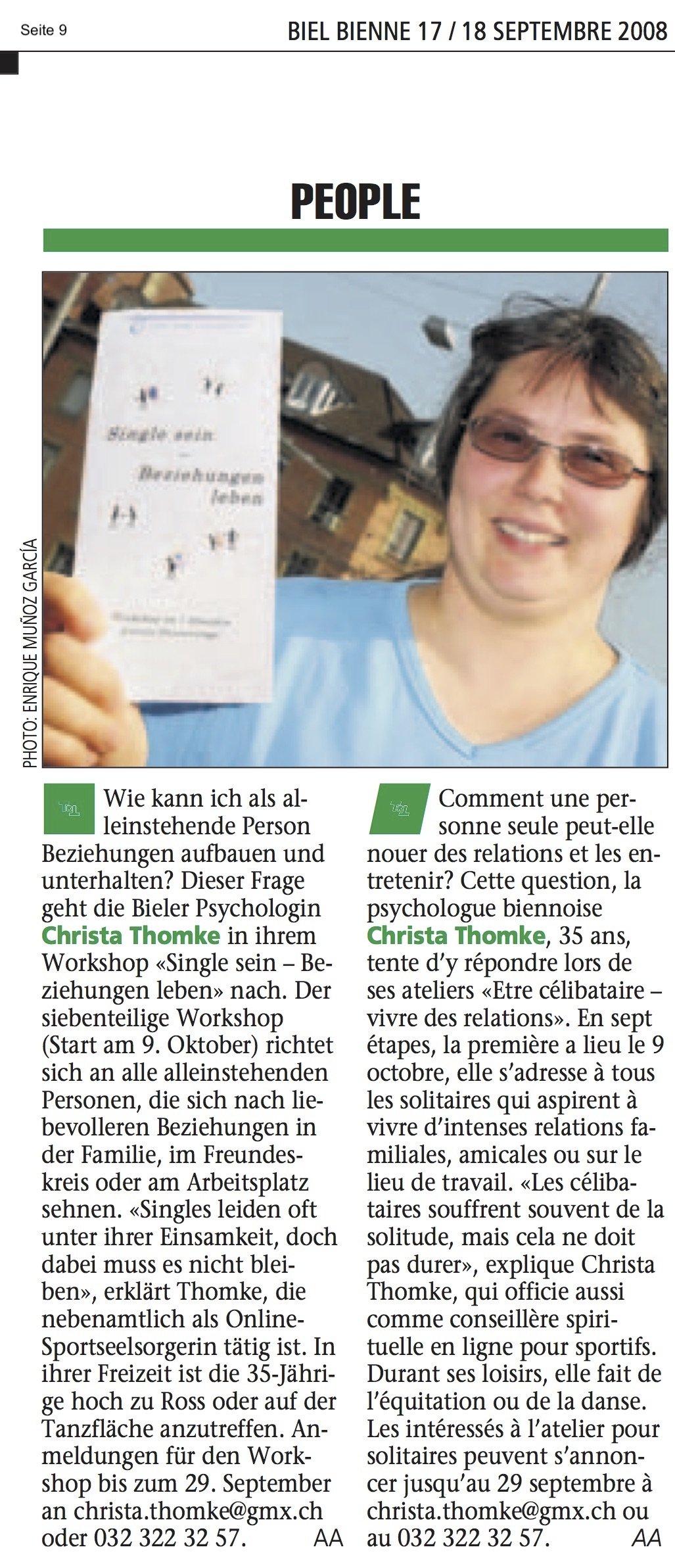 © Biel Bienne, 17. September 2008, S. 9